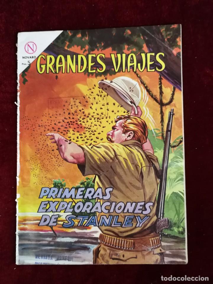 NOVARO GRANDES VIAJES PRIMERAS EXPLORACIONES DE STANLEY Nº 16 PRIMERA NUMERACIÓN (Tebeos y Comics - Novaro - Grandes Viajes)