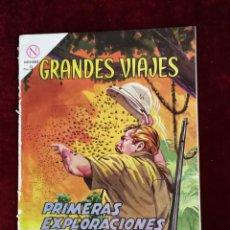 Tebeos: NOVARO GRANDES VIAJES PRIMERAS EXPLORACIONES DE STANLEY Nº 16 PRIMERA NUMERACIÓN. Lote 155567362