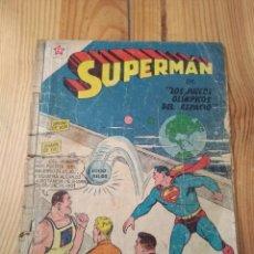 Tebeos: SUPERMAN Nº 142 - 1958 - MUY MAL ESTADO AUNQUE COMPLETO. Lote 155594890