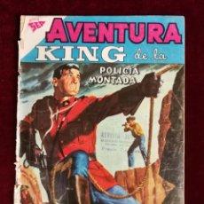 Tebeos: NOVARO SEA AVENTURA KING DE LA POLICIA MONTADA Nº 111. Lote 155601274