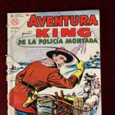 Tebeos: NOVARO SEA AVENTURA KING DE LA POLICIA MONTADA Nº 313. Lote 155606010