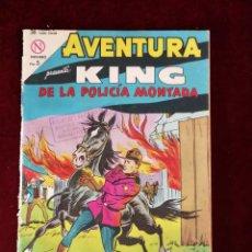 Tebeos: NOVARO AVENTURA KING DE LA POLICIA MONTADA Nº 321. Lote 155606994