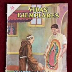 Tebeos: NOVARO VIDAS EJEMPLARES NUMERO EXTRAORDINARIO NUESTRA SEÑORA DE GUADALUPE 80 PAGINAS. Lote 155629142