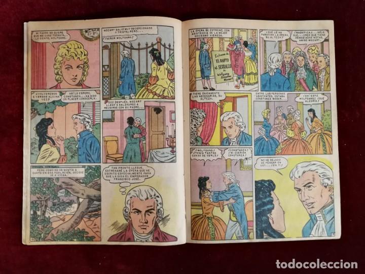 Tebeos: Novaro Vidas Ilustres nº 51 Mozart El niño Prodigio - Foto 3 - 155650802