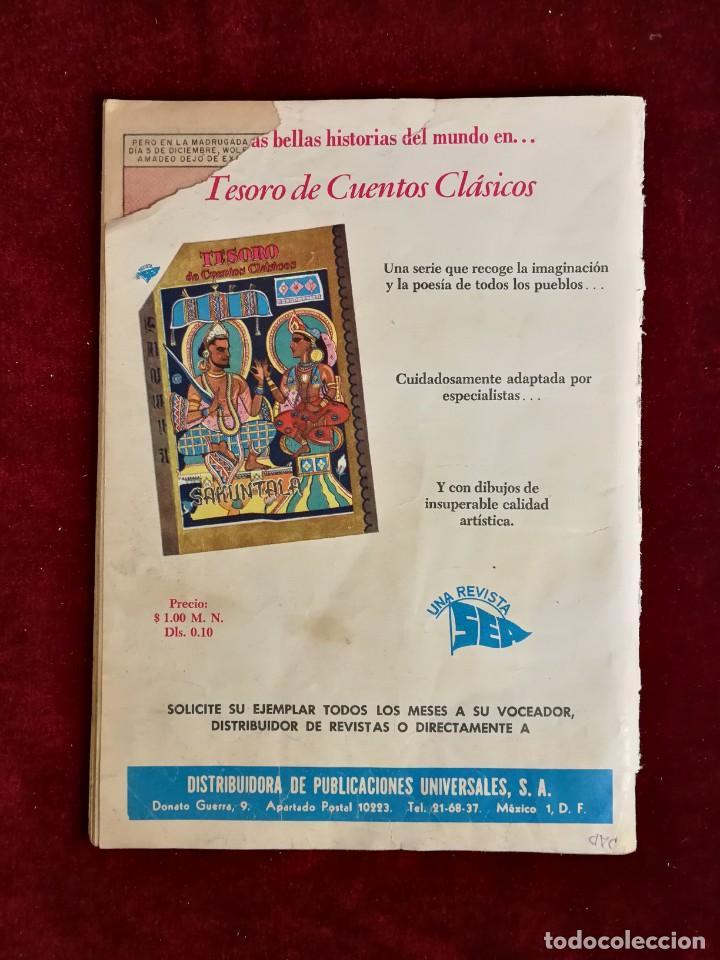 Tebeos: Novaro Vidas Ilustres nº 51 Mozart El niño Prodigio - Foto 4 - 155650802