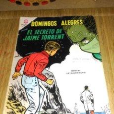 Tebeos: DOMINGOS ALEGRES EXTRAORDINARIO Nº 595 EL SECRETO DE JAIME TORRENT. Lote 155661062