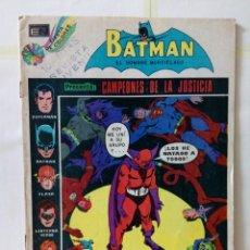 Tebeos: TEBEO DE EDITORIAL NOVARO-BATMAN. Lote 155688882