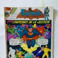 Tebeos: TEBEO DE EDITORIAL NOVARO - BATMAN. Lote 155689822