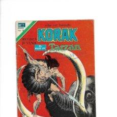 Tebeos: KORAK, EL HIJO DE TARZÁN Nº 2 - 64. - 29 DE JULIO DE 1977. EDITORIAL NOVARO, S. A. MÉXICO.. Lote 155753718