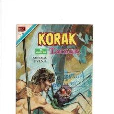 Tebeos: KORAK, EL HIJO DE TARZÁN, Nº 2 - 65. - 26 DE AGOSTO DE 1977. EDITORIAL NOVARO, S. A. MÉXICO.. Lote 155755002
