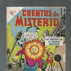 Tebeos: CUENTOS DE MISTERIO 34, 1963, NOVARO, BUEN ESTADO. Lote 155758714