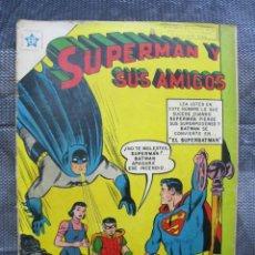 Tebeos: SUPERMAN Y SUS AMIGOS N. 4. ERSA NOVARO 1956. TEBEO ORIGINAL. Lote 155790790