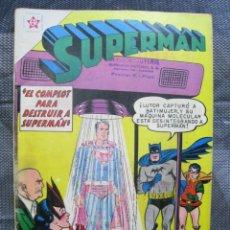 Tebeos: SUPERMAN N. 243. ERSA NOVARO 1960. TEBEO ORIGINAL. Lote 155792850