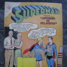 Tebeos: SUPERMAN N. 318. ERSA NOVARO 1961. TEBEO ORIGINAL. Lote 155793478