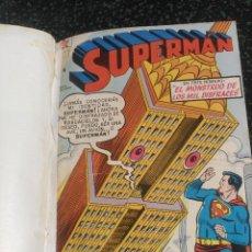 Tebeos: SUPERMÁN NOVARO TOMO CON 4 NÚMEROS EXTRAORDINARIOS DIFÍCILES. Lote 155803426