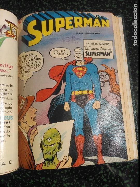 Tebeos: Supermán Tomo con 4 Números Extraordinarios DIFÍCILES NOVARO - Foto 3 - 155803426