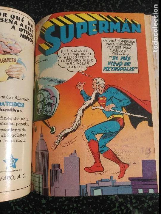 Tebeos: Supermán Tomo con 4 Números Extraordinarios DIFÍCILES NOVARO - Foto 4 - 155803426