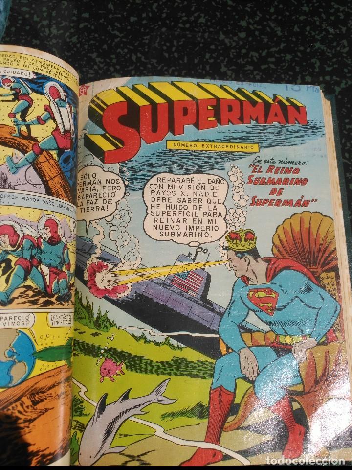 Tebeos: Supermán Tomo con 4 Números Extraordinarios DIFÍCILES NOVARO - Foto 5 - 155803426