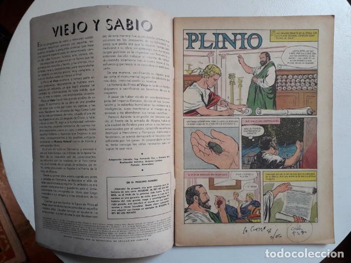 Tebeos: Vidas ilustres n° 103 - original editorial Novaro - Foto 2 - 155891038