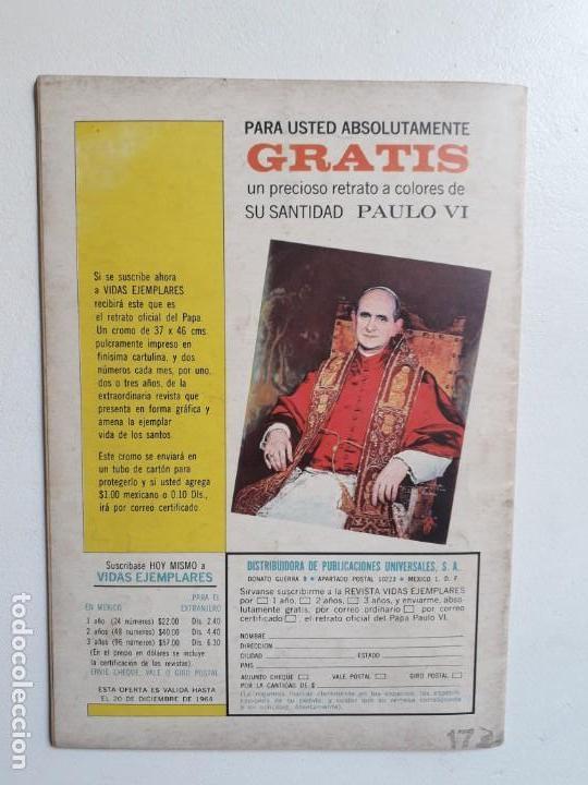 Tebeos: Vidas ilustres n° 103 - original editorial Novaro - Foto 3 - 155891038