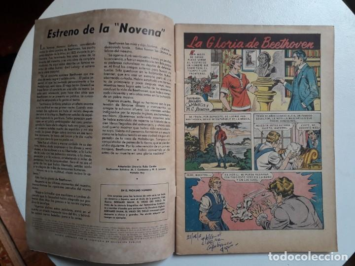 Tebeos: Vidas Ilustres n° 85 - original editorial Novaro - Foto 2 - 155891254