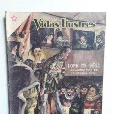 Tebeos: VIDAS ILUSTRES N° 36 - ORIGINAL EDITORIAL NOVARO. Lote 155891478