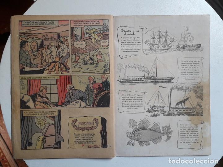 Tebeos: Vidas Ilustres n° 35 - original editorial Novaro - Foto 3 - 155891710