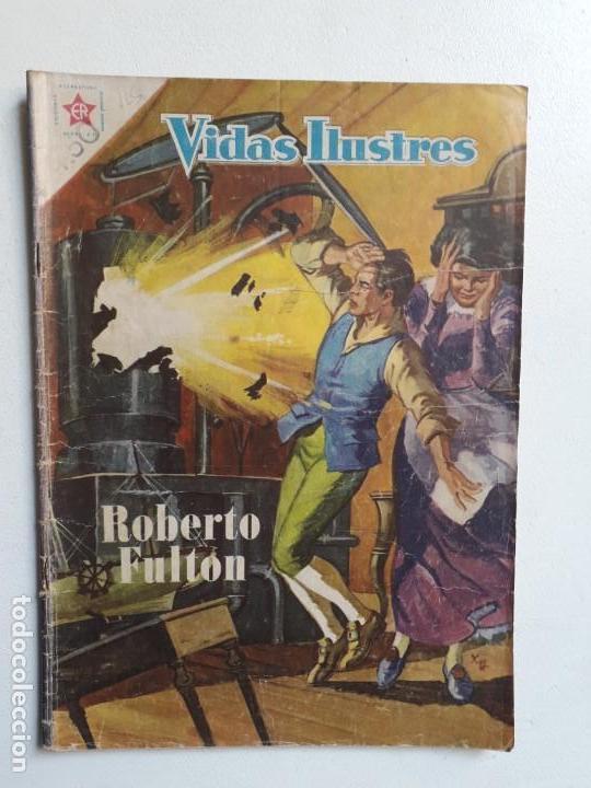 VIDAS ILUSTRES N° 35 - ORIGINAL EDITORIAL NOVARO (Tebeos y Comics - Novaro - Vidas ilustres)