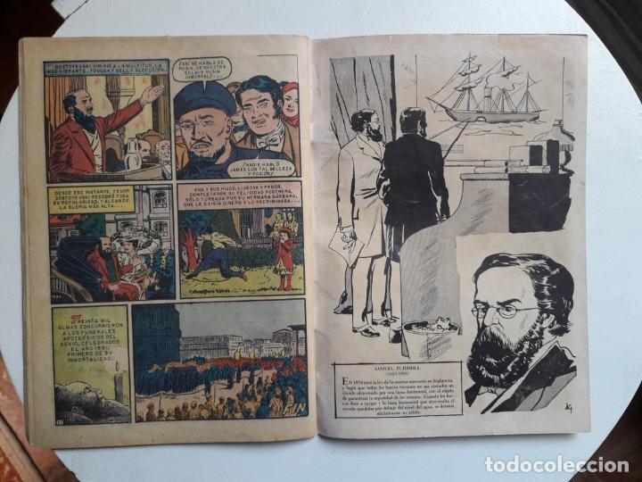Tebeos: Vidas Ilustrres n° 28 - original editorial Novaro - Foto 3 - 155891894