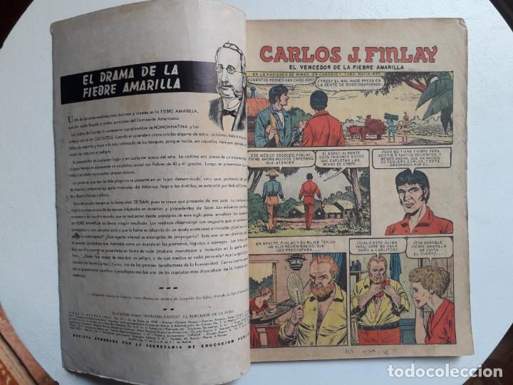 Tebeos: Vidas Ilustres n° 24 - original editorial Novaro - Foto 2 - 155892234