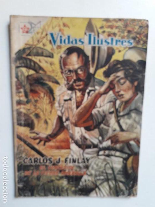 VIDAS ILUSTRES N° 24 - ORIGINAL EDITORIAL NOVARO (Tebeos y Comics - Novaro - Vidas ilustres)