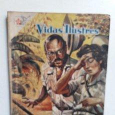Tebeos: VIDAS ILUSTRES N° 24 - ORIGINAL EDITORIAL NOVARO. Lote 155892234
