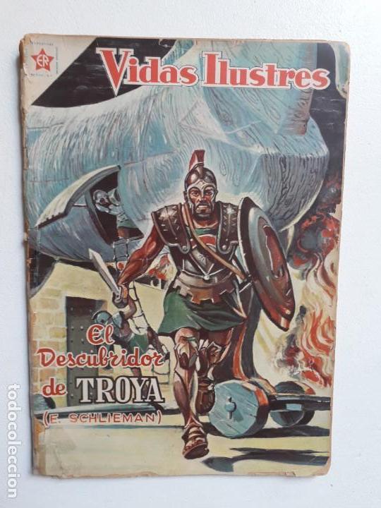 VIDAS ILUSTRES N° 22 - ORIGINAL EDITORIAL NOVARO (Tebeos y Comics - Novaro - Vidas ilustres)