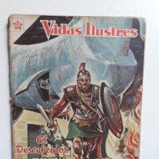 Tebeos: VIDAS ILUSTRES N° 22 - ORIGINAL EDITORIAL NOVARO. Lote 155892690