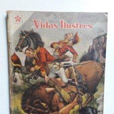 Tebeos: VIDAS ILUSTRES N° 21 - ORIGINAL EDITORIAL NOVARO. Lote 155893050