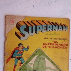 Tebeos: SUPERMAN Nº 110 - 1957 ER - NOVARO. Lote 156558786