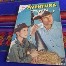 Tebeos: AVENTURA Nº 300 CON PÓLVORA. NOVARO 1963. 5 PTS. MUY BUEN ESTADO. . Lote 156796382