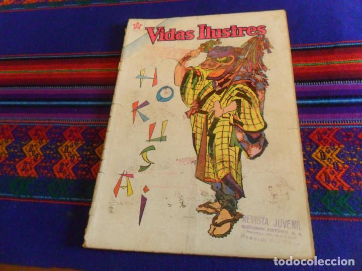 VIDAS ILUSTRES Nº 66 HOKUSAI. NOVARO 1961. (Tebeos y Comics - Novaro - Vidas ilustres)