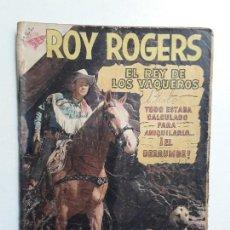 Tebeos: OPORTUNIDAD COMIC CON ALGÚN DETERIORO - ROY ROGERS N° 87 - ORIGINAL EDITORIAL NOVARO. Lote 156798018