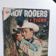 Tebeos: OPORTUNIDAD COMIC CON ALGÚN DETERIORO - ROY ROGERS N° 58 - ORIGINAL EDITORIAL NOVARO. Lote 156798294