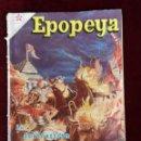 Tebeos: NOVARO EDICIONES RECREATIVAS EPOPEYA Nº 12 LA DESTRUCCIÓN DE CARTAGO. Lote 156828054