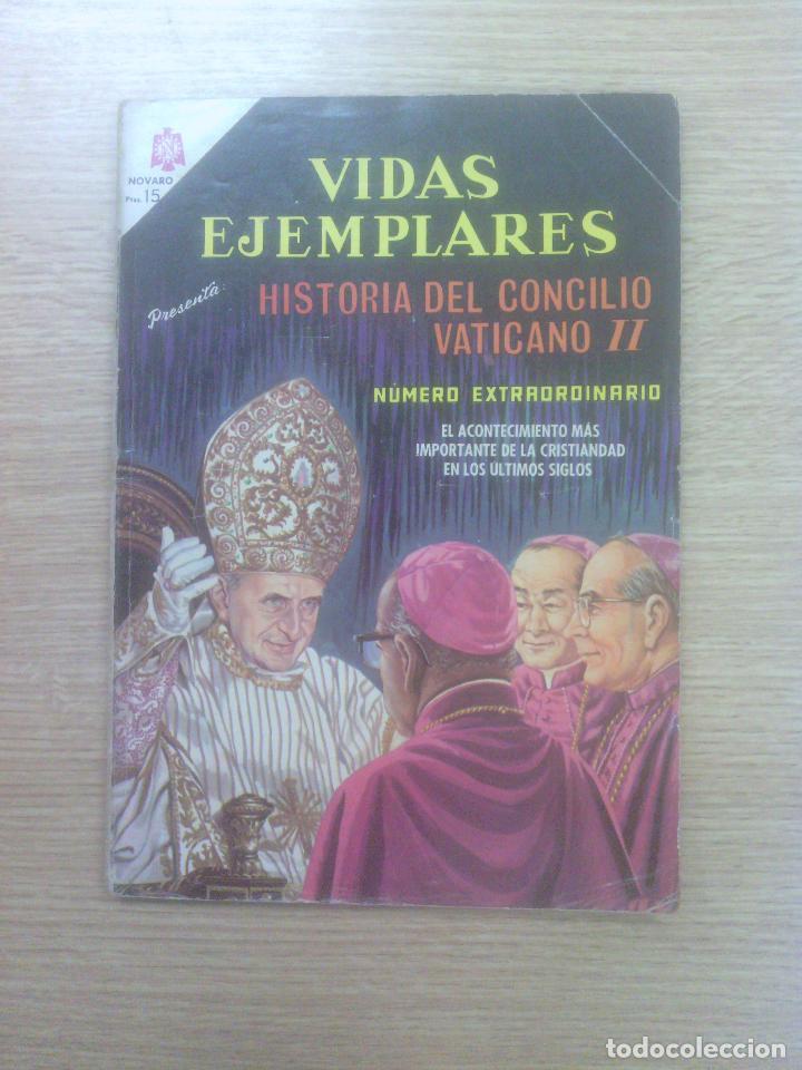 VIDAS EJEMPLARES NUMERO EXTRAORDINARIO HISTORIA DEL CONCILIO VATICANO II (Tebeos y Comics - Novaro - Vidas ejemplares)