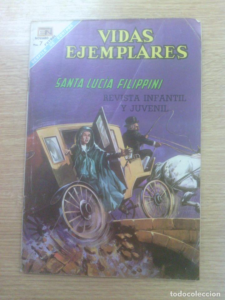 VIDAS EJEMPLARES #264 - SANTA LUCIA FILIPPINI (Tebeos y Comics - Novaro - Vidas ejemplares)