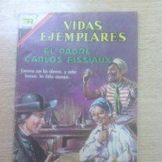 Tebeos: VIDAS EJEMPLARES #258 - EL PADRE CARLOS FISSIAUX. Lote 156842346