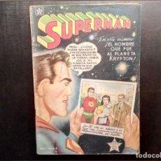 Tebeos: SUPERMAN NOVARO NÚMERO 8 AÑO 1952 MUY BUEN ESTADO. LEER DESCRIPCIÓN.. Lote 157101970