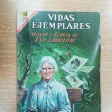 Tebeos: VIDAS EJEMPLARES #252 - OCASO Y GLORIA DE EVA LAVALLIERE. Lote 157240466