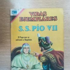 Tebeos: VIDAS EJEMPLARES #259 - SS PIO VII. Lote 157240470