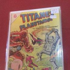 Tebeos: NOVARO TITANES PLANETARIOS NUMERO 227 NORMAL ESTADO. Lote 157806062