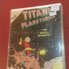 Tebeos: NOVARO TITANES PLANETARIOS NUMERO 298 NORMAL ESTADO. Lote 157806222