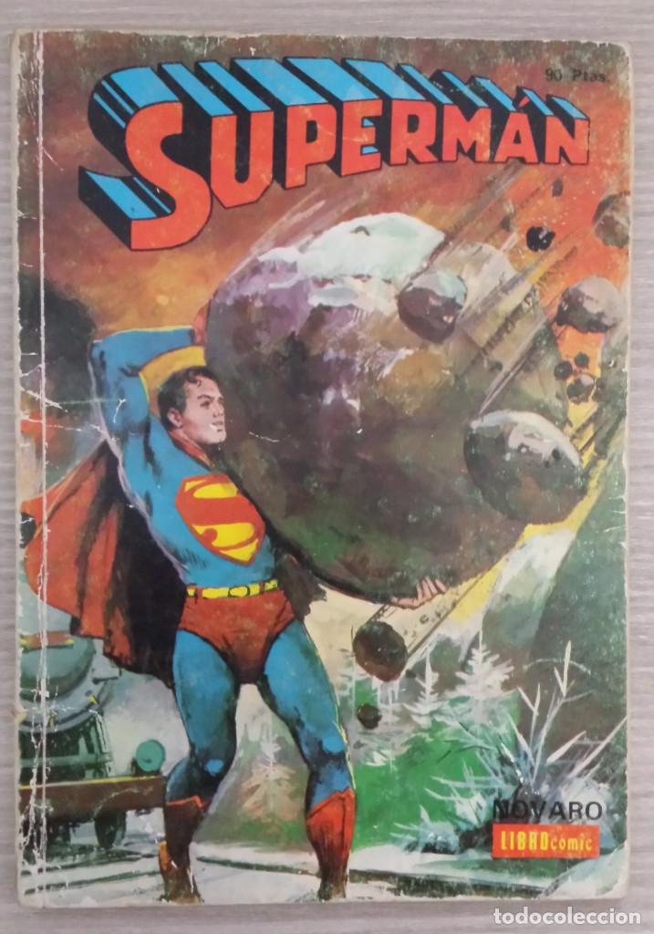 SUPERMAN LIBROCÓMIC TOMO NÚMERO 34 (XXXIV) RÚSTICA NOVARO (LIBRO CÓMIC) (Tebeos y Comics - Novaro - Superman)